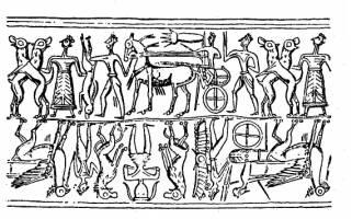 Sumerian Hunting Scene